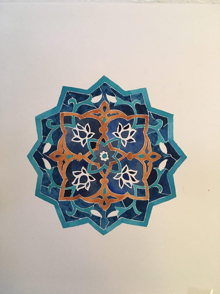 Nottingham - Eslimi (Islimi) and Persian Geometry Art Workshop 3