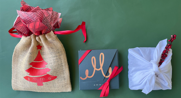 Gift-wrapping ideas for a mom in a rush | emme