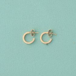 Mini Timeless Gold Hoop Earrings - emme