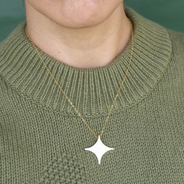 Star Gold Necklace - emme