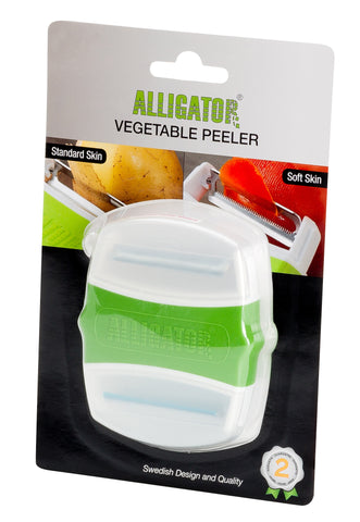 09. Alligator Vegetable Peeler (2-in-1) (#3040G) - Alligator of Sweden | The World's Best Chopper (Official Online Store)