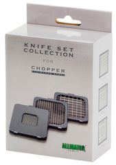08. Alligator Stainless Steel Knive Set Collection (#3098) - Alligator of Sweden | The World's Best Chopper (Official Online Store)