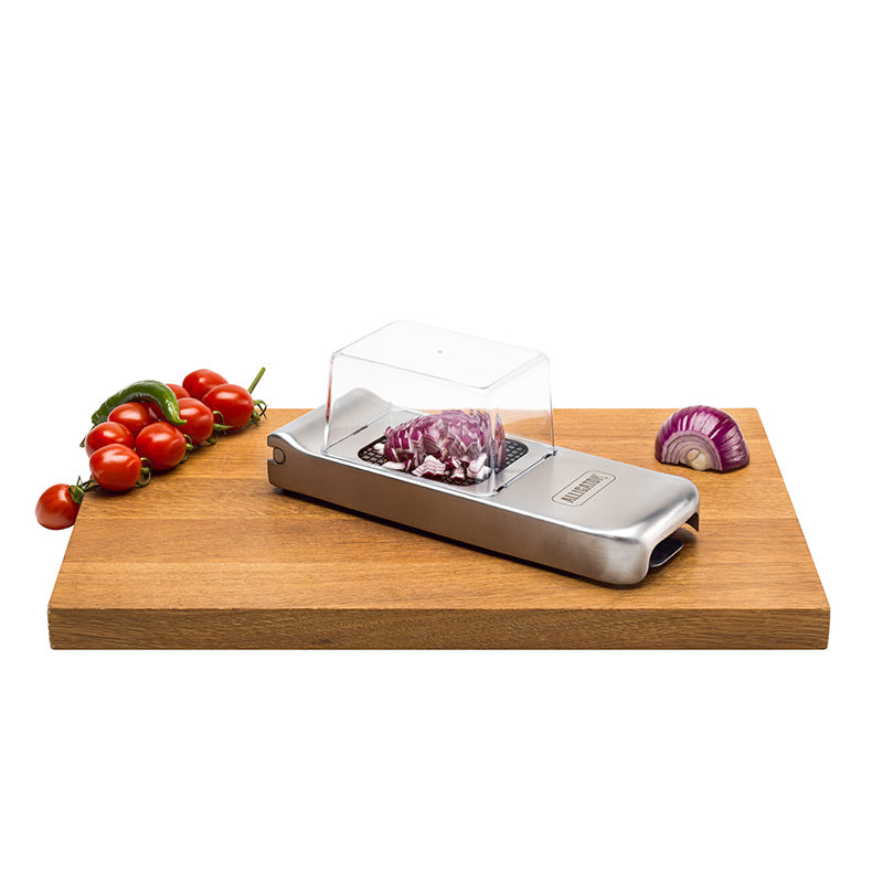 101 | 3093 Alligator Vegetable Chopper Stainless Steel Construction and Sharpest Steel Blades - Alligator of Sweden | The World's Best Chopper (Official Online Store)