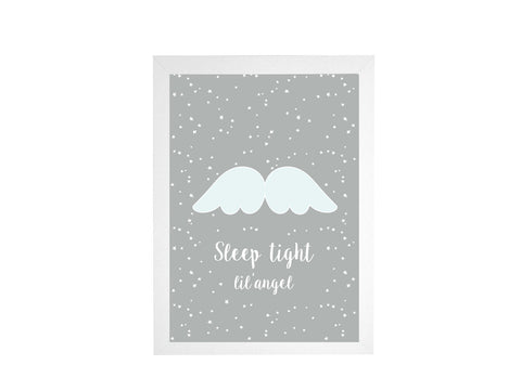 Sleepy Angel Poster