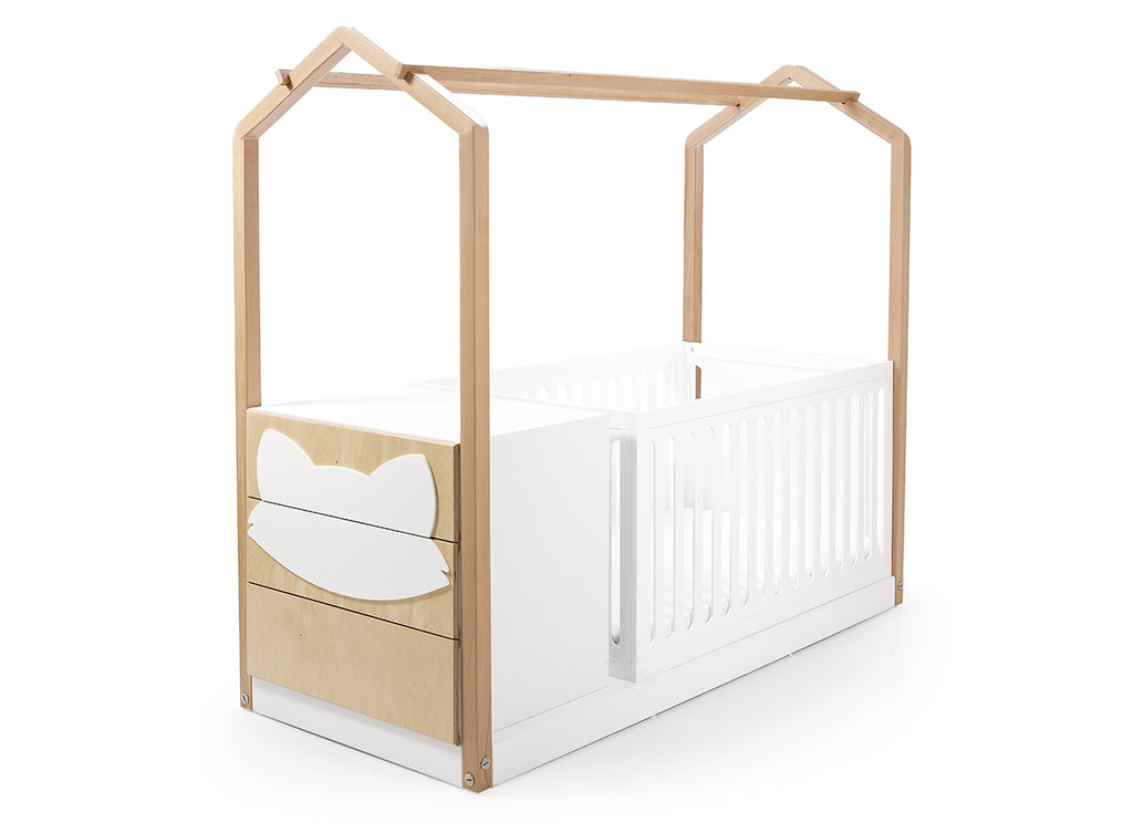 Casa E Crib & Fox Drawers