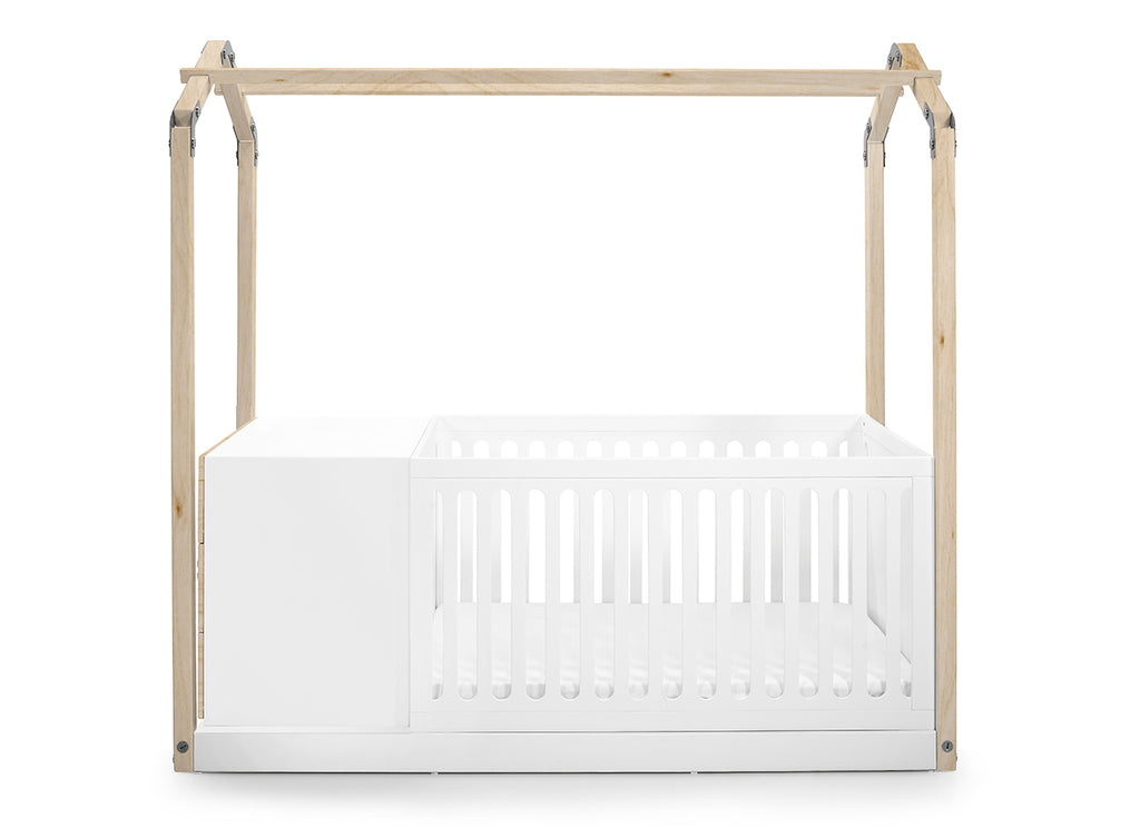 Casa E Crib & White Fox Drawers