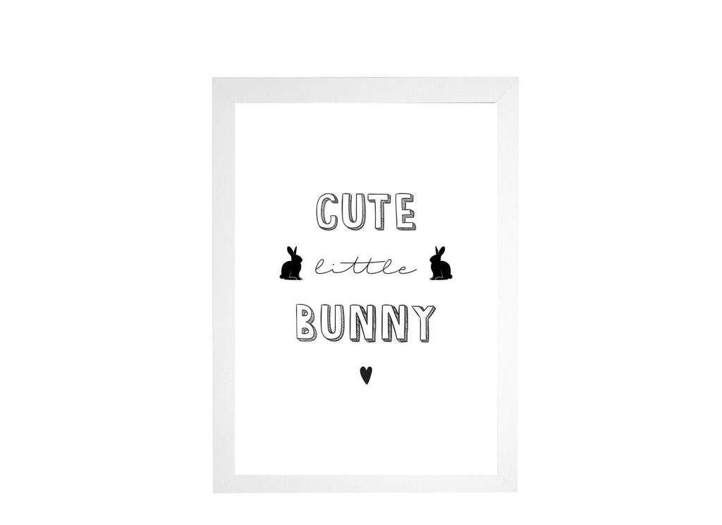 Cute Little Bunny Poster