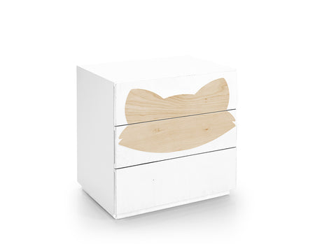 Fox Drawers - White & Fox Figure