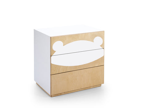 Fox Drawers - Natural & Teddy Figure