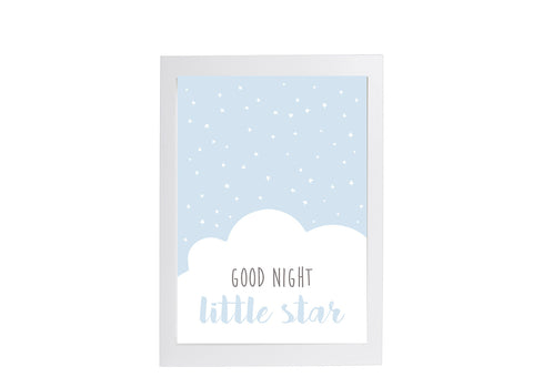 Good Night Little Star Poster