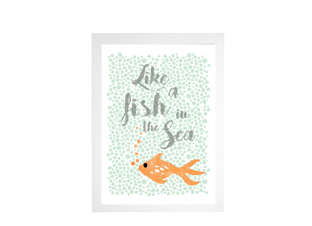 Like a Fish in the Sea Poster