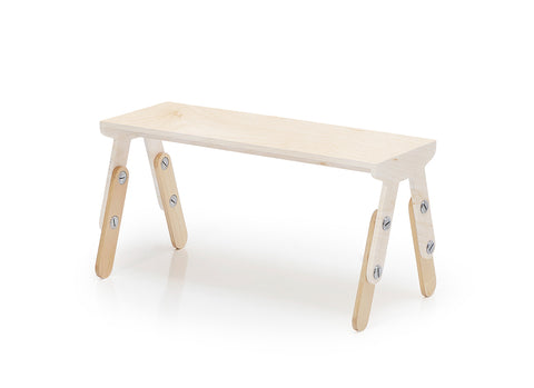 Milky Bench White Wash