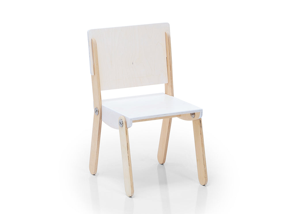 Milky Chair M White Wash