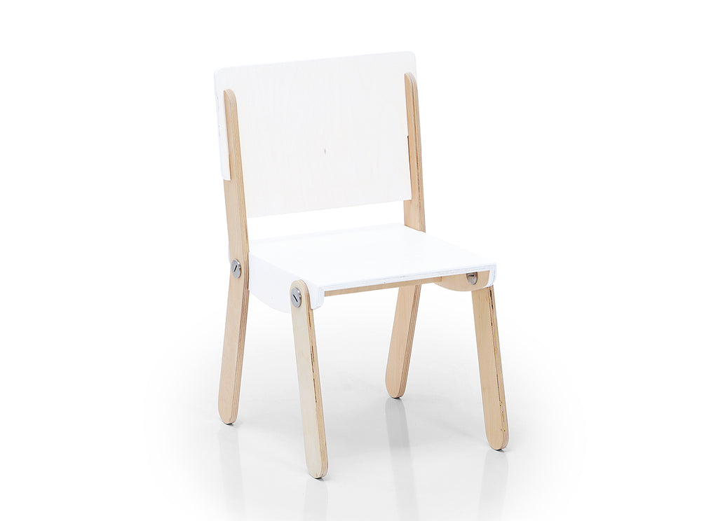 Milky Chair M White Lacquered