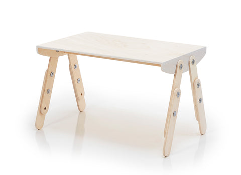 Milky Desk White Wash