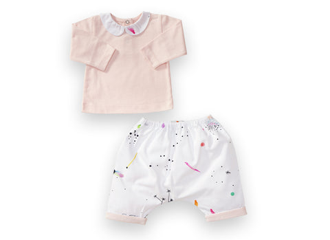Dreamland Pyjama Set - Almost Mauve