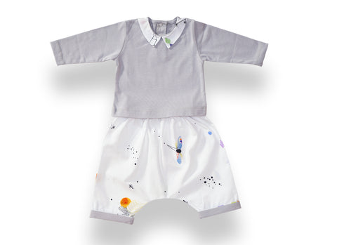 Dreamland Pyjama Set - Vapor Blue