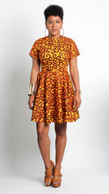 Von Me Dress in Flame
