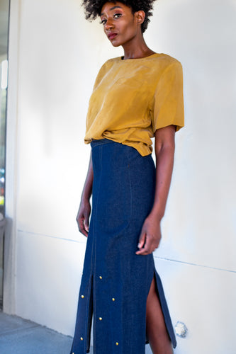 Girl Group Denim Skirt