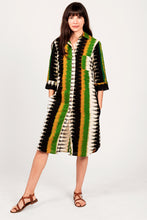 Tribe Stripe Khrista Shirtdress