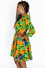 Von Me Dress in Kente