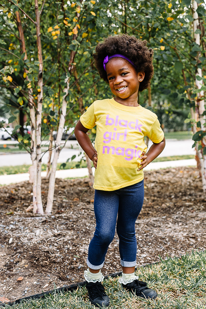 Kids Black Girl Magic Tee