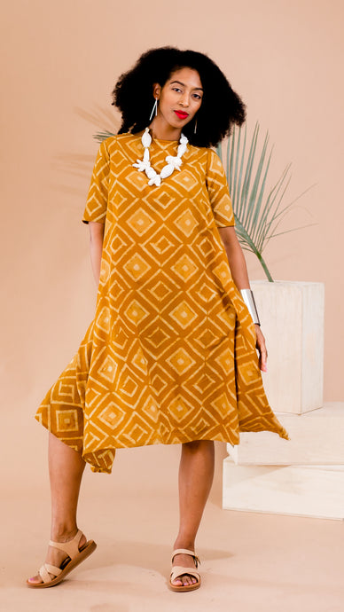 Mustard Everly Dress