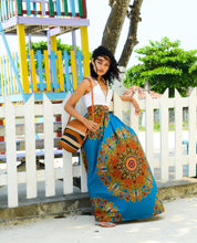 Zuwa Maxi Skirt in Carribean