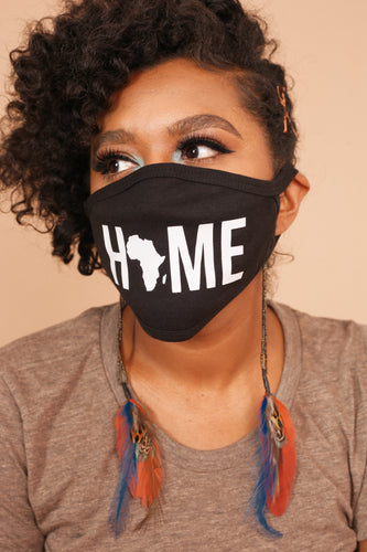 Africa is HOME Face Mask