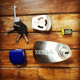 XENA XX10 BLE Disc-Lock Alarm for Motorcycles