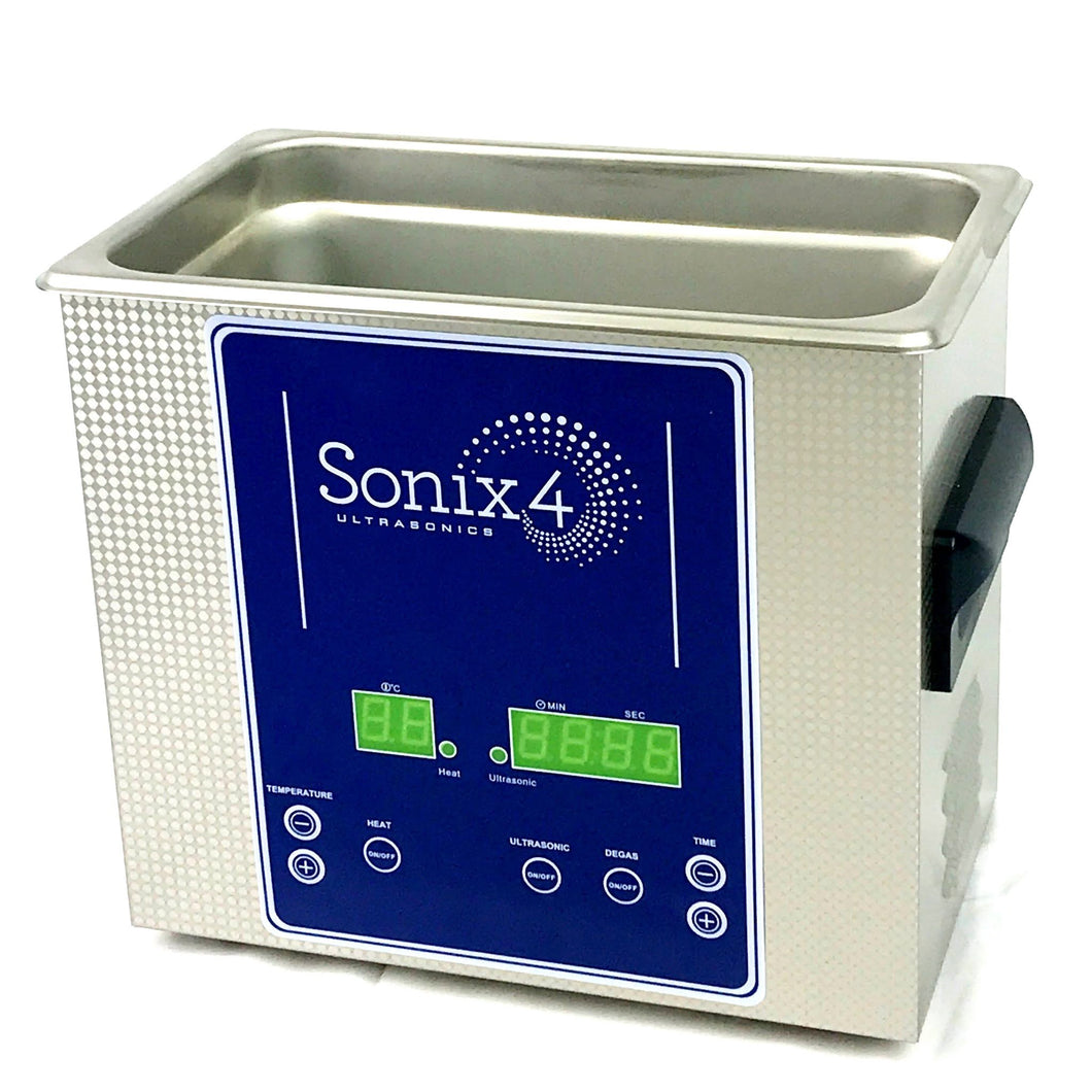 Dual Frequency Digital Ultrasonic Cleaner, 3/4 Gallon (3.2L) with heat – SF144H