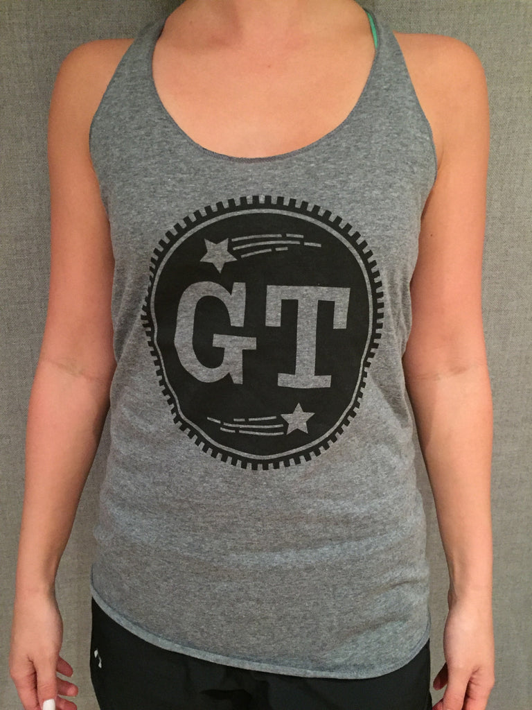 GT Circle Logo Women's Tank (Light Gray)