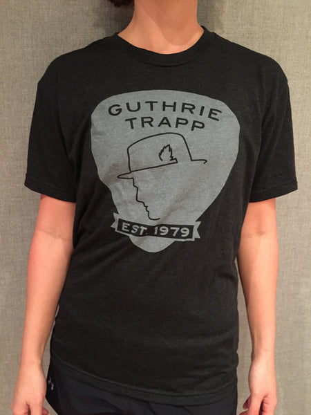 GT Pick Logo Tee (Dark Gray)