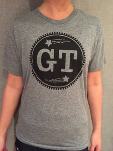 GT Circle Logo Tee (Light Gray)
