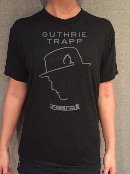 GT Face Outline Tee (Dark Gray)