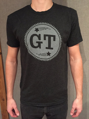 GT Circle Logo Tee (Dark Gray)