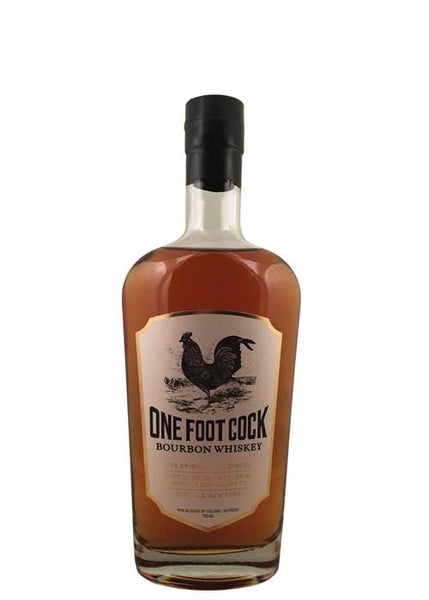 Buffalo Distilling Company BFLO One Foot Cock Bourbon Whiskey 750ML