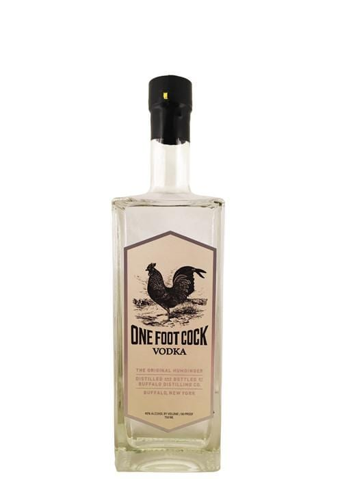 Buffalo Distilling Company BFLO One Foot Cock Vodka 750ML