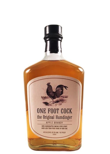One Foot Cock Apple Brandy: Aged