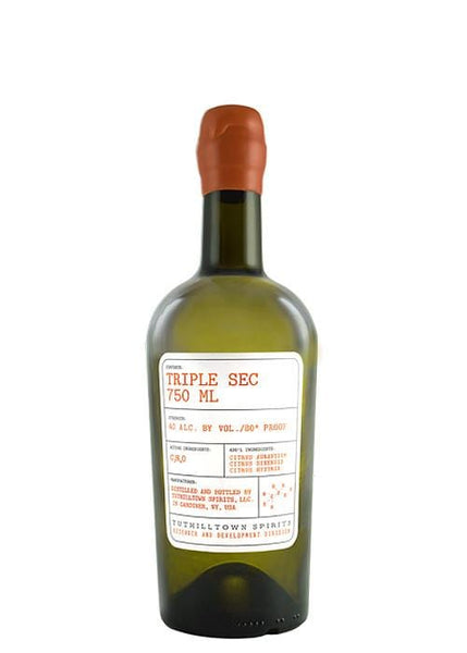 Tuthilltown Spirits Triple Sec 750 ML