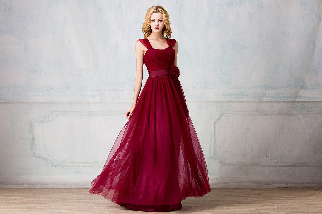 Tulle bridesmaid dress - full length + cocktail length customzied package