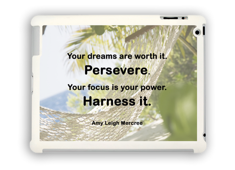 Your Dreams Are Worth It iPad Case