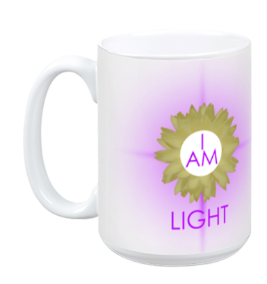 Crown Chakra Mug - I Am Light