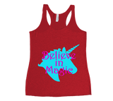 Believe in Magic Unicorn Tank Top