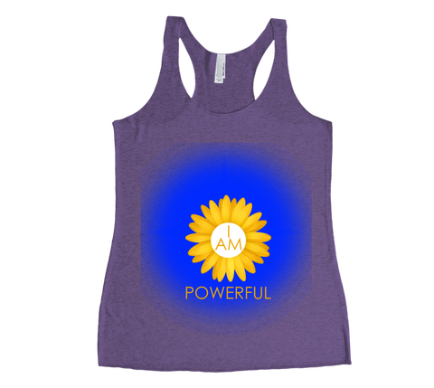 I Am Powerful Tank Top - 3rd Chakra