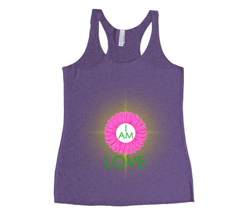I Am Love Tank Top - 4th Chakra