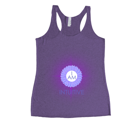 I Am Intuitve Tank Top - 6th Chakra