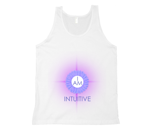 Brow Chakra - I Am Intuitive Tank Top - White