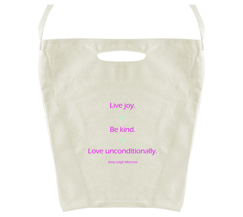 Live Joy Tote Bag