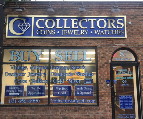 Smithtown Collectors coins and jewelry store front